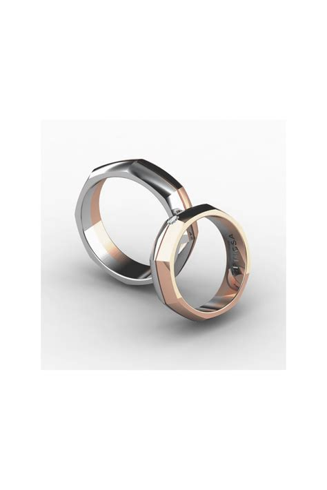 Shaped Wedding Ring by Sophisticated Octagonal Shaped Wedding Ring