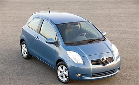 2007 toyota yaris s car and driver