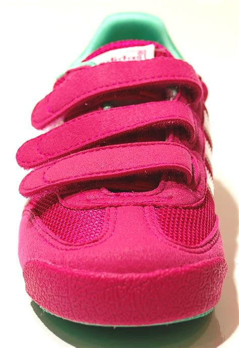 trainers shoes sports velcro pink trainer 2015 adidas ebay
