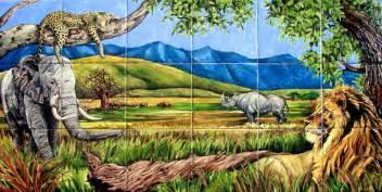 pics photos safari wall murals jungle amp safari wall murals decor place