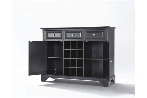 sideboard cabinet with wine storage lafayette buffet server sideboard cabinet with wine