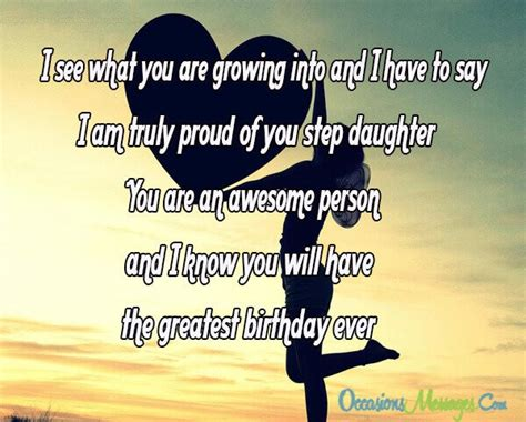 Birthday Quotes For Stepdaughter Step Daughter Birthday Wishes Occasions Messages