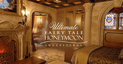 Honeymoon Sweepstakes 2017 - disney s fairy tale weddings sweepstakes code