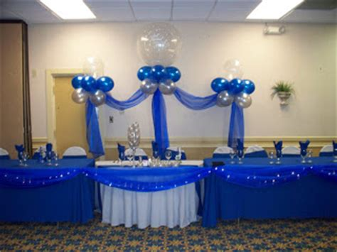 party people event decorating company royal blue