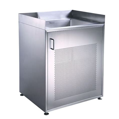 stainless steel sink cabinet whitehaus collection noah s collection 30 in stainless