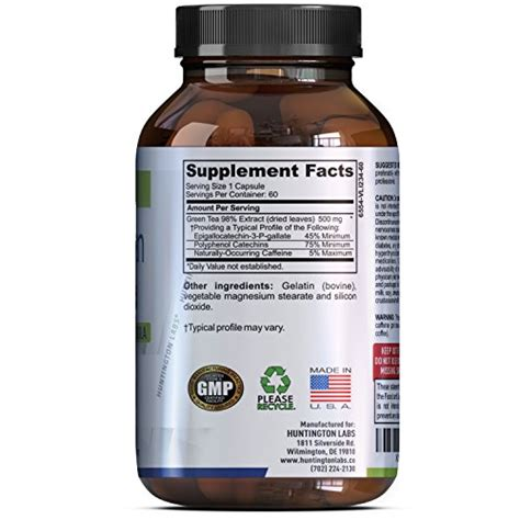 Is Detox For Less Legit by Green Tea Extract Capsules Extract Weigh Loss