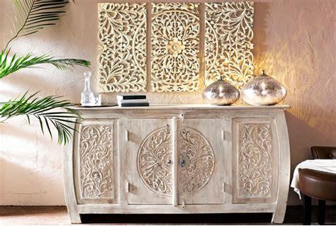 Délicieux Decoration Murale En Metal Design #4: Heine-home-Lot-Deco-murale-3-pces-blanc-e1455549087390.jpg