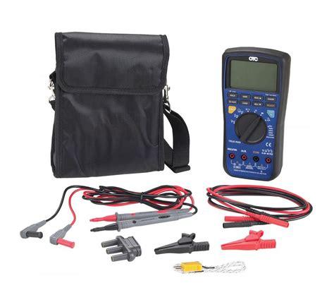 Multimeter Hybrid 1000v cat iii hybrid multimeter with insulation resistance test otc tools