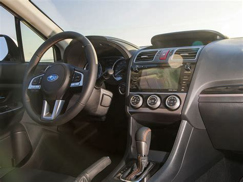 subaru suv interior new 2017 subaru crosstrek price photos reviews safety