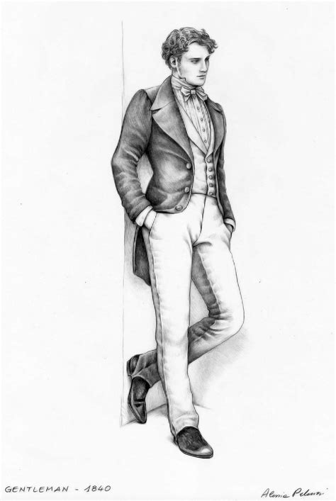 victorian genylemen colouring pages