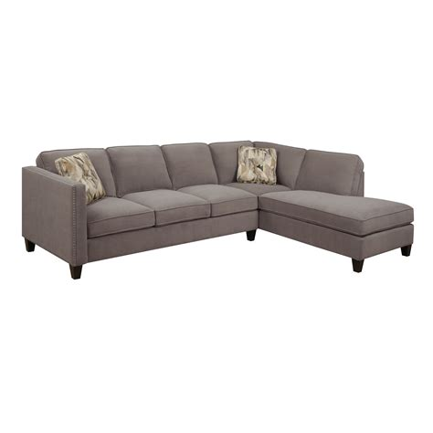 nailhead trim sectional sectional sofa with nailhead trim cleanupflorida com