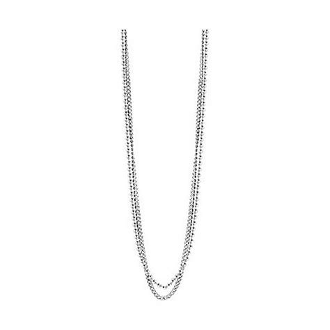 Guess Chain Silver guess s chain necklace stainless steel silver umn21509