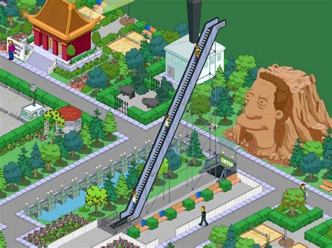 Simpsons Tapped Out Account Giveaway - the simpsons tapped out escalator to nowhere youtube