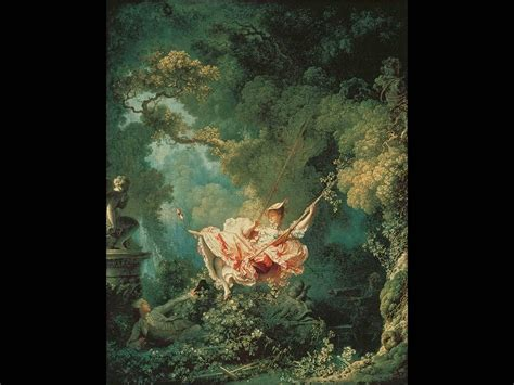Fragonard The Swing 1767 by Test 3 And History 2302 With Elkins