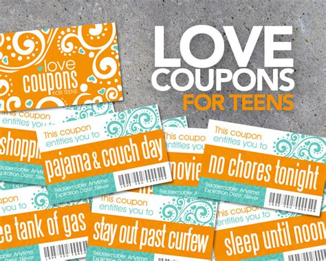 printable love coupons uk love coupons for teens printable instant download