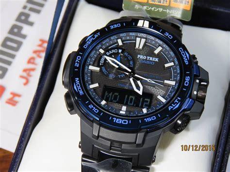 G Shock Protrek Prw 6000 Blue protrek prw 6000syt 1jf titan blue moment 7 casio
