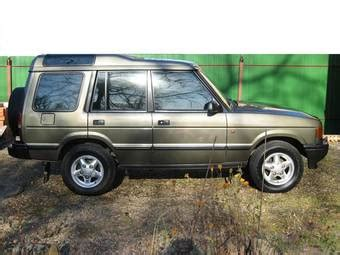 how petrol cars work 1997 land rover discovery parking system used 1997 land rover discovery photos 2500cc diesel automatic for sale