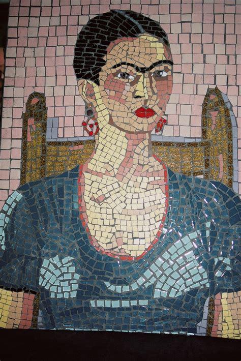 mosaic  frida kahlo wwwmandelaparkmosaicscom