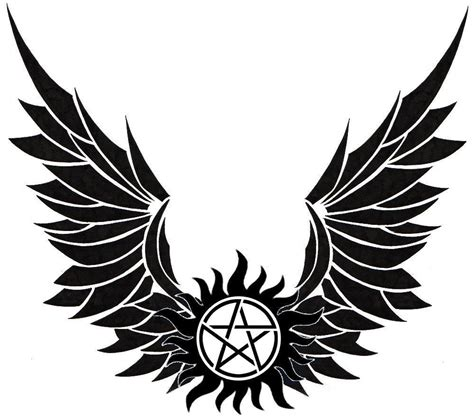 Winged Anti Possession Symbol Tatoo Ideas Pinterest Anti Possession