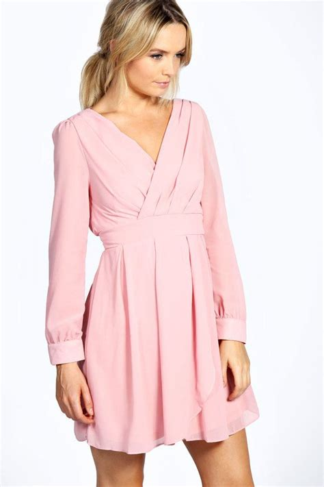 light pink wrap dress light pink dress perfect for fall i need this fall