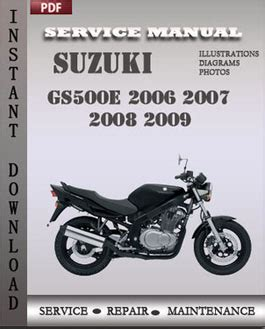 service manual free service manuals online 2006 suzuki xl 7 auto manual suzuki grand vitara suzuki gs500e 2006 2007 2008 2009 service manual download repair service manual pdf