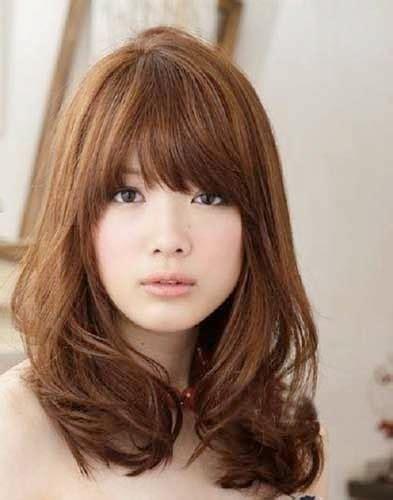 model rambut pendek sebahu ala korea ayeeycom