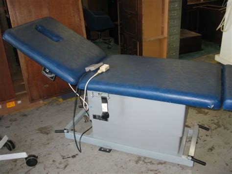 hill chiropractic tables used hill labs ha90 chiropractic table for sale dotmed