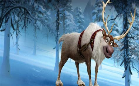 wallpaper frozen sven sven wallpaper olaf and sven wallpaper 36145245 fanpop