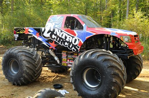 Nitro Circus Monster Truck Super Sport Design
