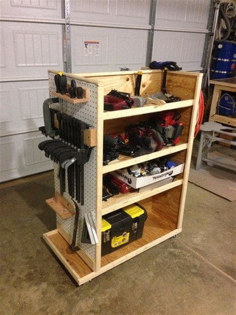 Garage Storage For Power Wheels Best 20 Tool Cart Ideas On