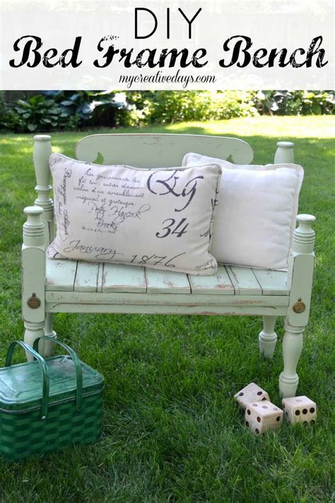 bed frame bench diy bed frame bench my creative days