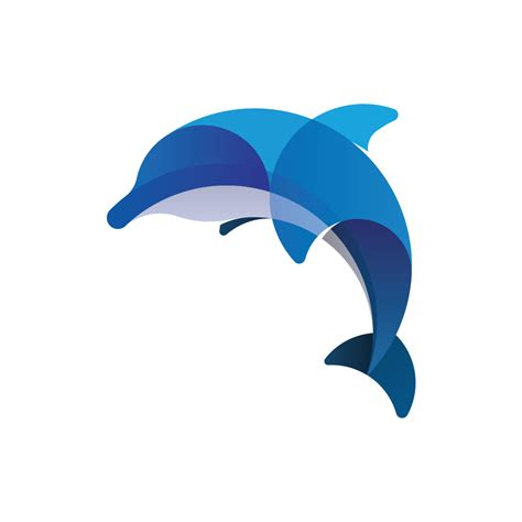 blue pattern logo dolphin logo png www pixshark com images galleries