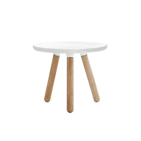 Small White Side Table Normann Copenhagen Tablo Side Table Small White Panik Design