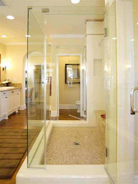 Bathroom With Shower And Tub Bathroom Shower Designs Bathroom Design Choose Floor Plan Bath Remodeling Materials Hgtv