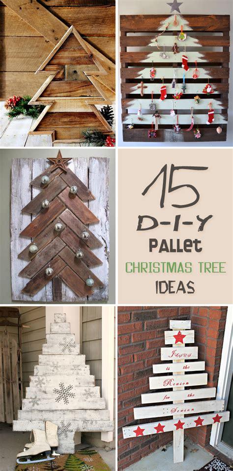 15 amazing diy pallet christmas tree ideas
