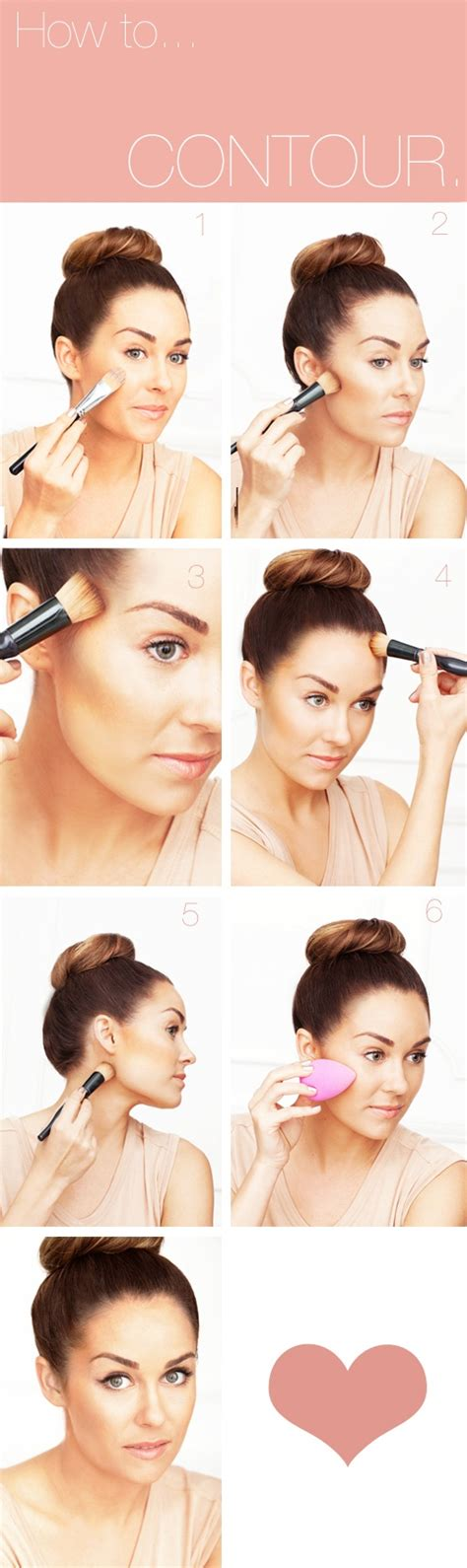 tutorial makeup contouring 10 light contouring tutorials for every girl pretty designs