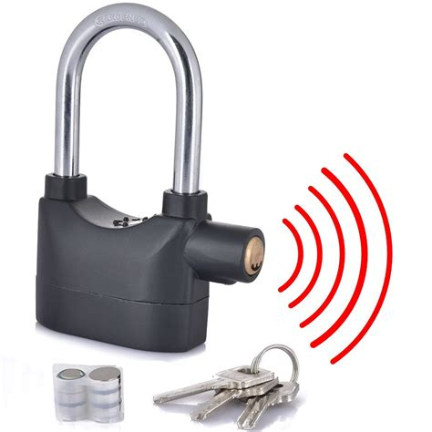 Alarm Padlock buy multipurpose extended alarm lock large at