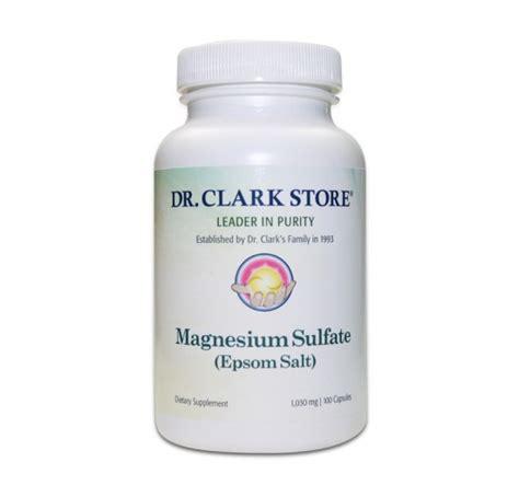 Magnesium Sulfate Detox sel d epsom