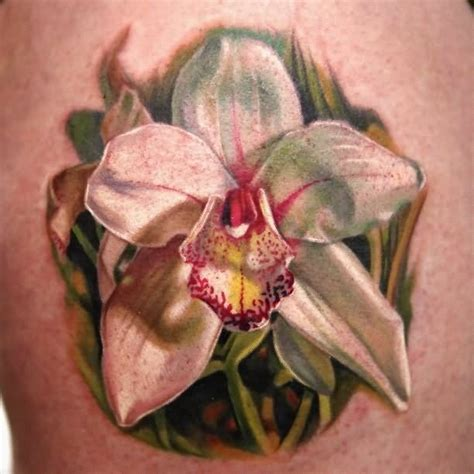 black orchid tattoo 42 black and white orchid tattoos