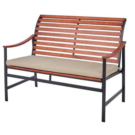 hton bay bench outdoor bench with cushion 28 images florence cast