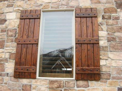 Curtain Rods For Bow Windows 17 best ideas about window shutters on pinterest pallet