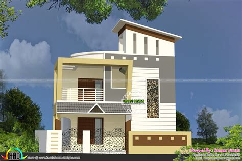 double floor house elevation photos double floor small home kerala home design and floor plans