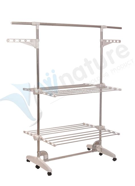 Clothes Drying Rack With Wheels by 2017 Sale Portable Clothes Drying Rack With 3 Layers