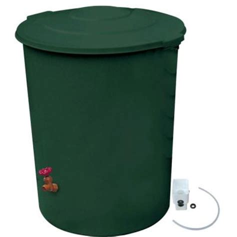 rescue 60 gal deluxe barrel with diverter kit 2771 1