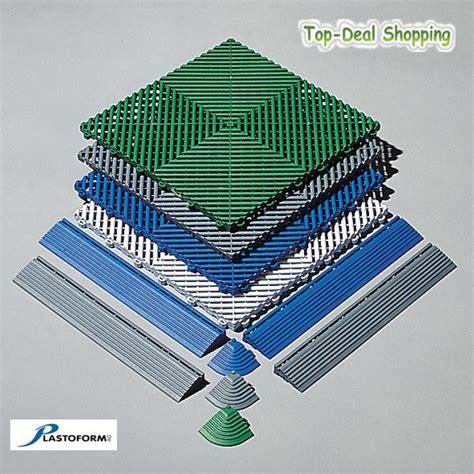 Kunststoff Fliesen by Plasto Rip Bodenplatten 6 Er Pack 31 20 Eur Qm