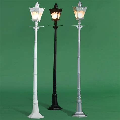 L Post Prop by Electric L Post City Light Choose White Silver