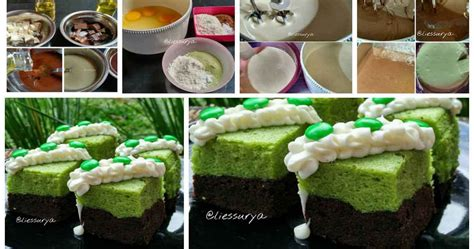 cara membuat brownies kukus green tea resep brownies kukus cokelat green tea enak dan wangi