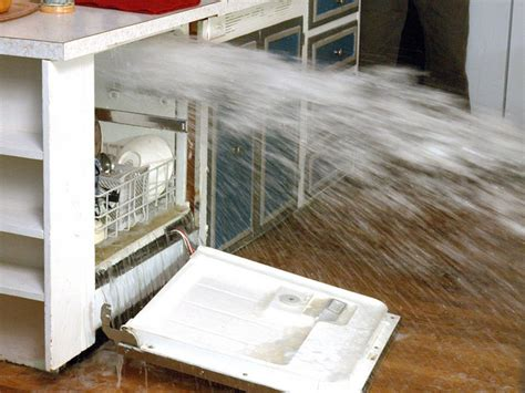 Dishwasher Flooded Floor - how to remove and replace a dishwasher how tos diy