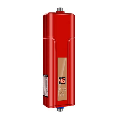 bathroom water heater 5500w electric indoor tankless instant water heater for