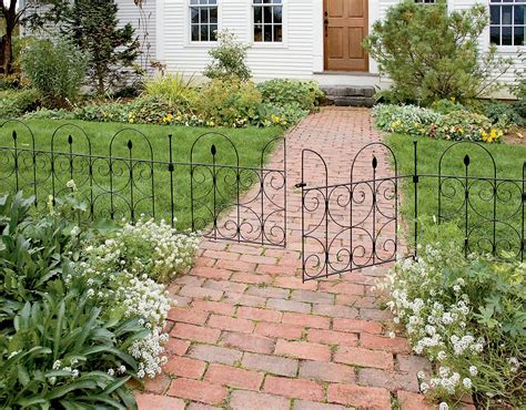 Garden Border Fence Ideas Gorgeous Garden Border Fencing Jbeedesigns Outdoor